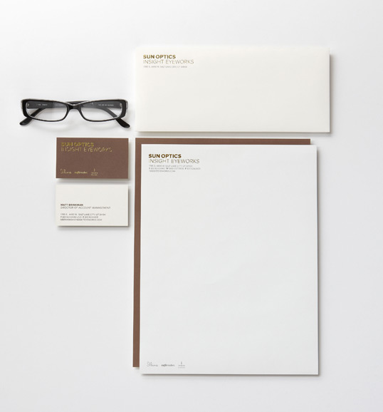 sun optics insight eyeworks lovely stationery curating the very