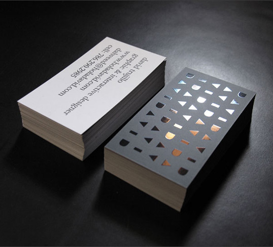 David trujillo lovely stationery curating the very for Vistaprint foil