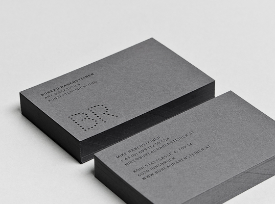 Bureau Rabensteiner Lovely Stationery Curating The Very
