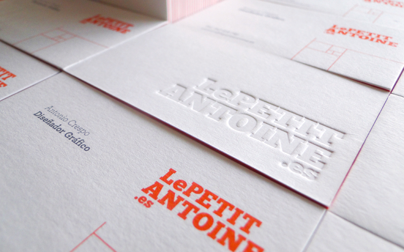 Letterpress lovely stationery curating the very best of lepetit antoine reheart Images