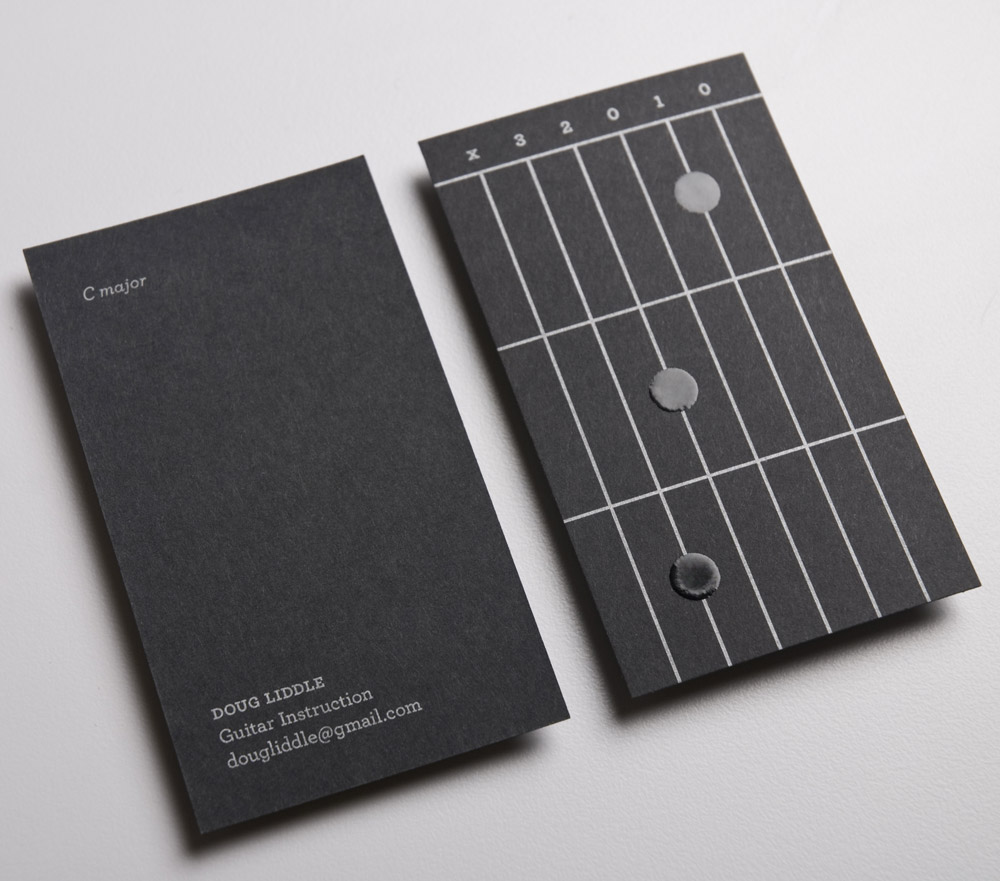 Doug Liddle Guitar Instruction : Lovely Stationery . Curating the ...