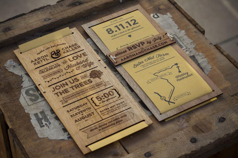 Kettl & Keller Wedding Invitation : Lovely Stationery . Curating the ...