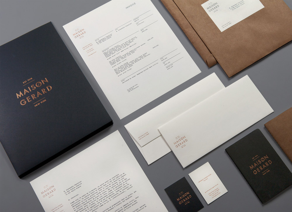 Letterhead lovely stationery curating the very best of for Maison deco