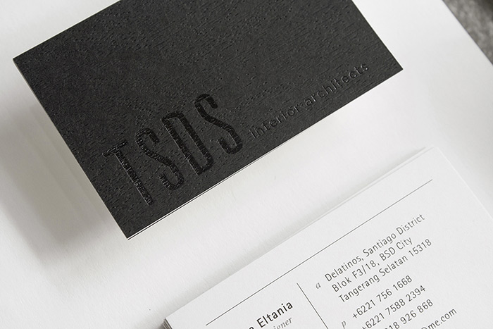 Business card lovely stationery curating the very best - Business name for interior design company ...